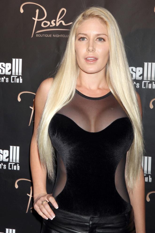 Heidi Montag Breast Size
