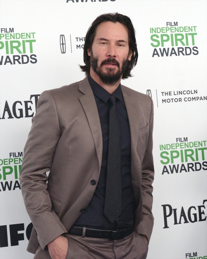 keanu reeves height:
