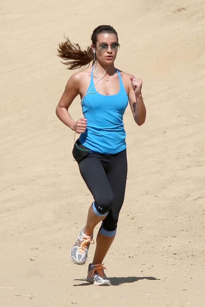 Lea Michele Weight