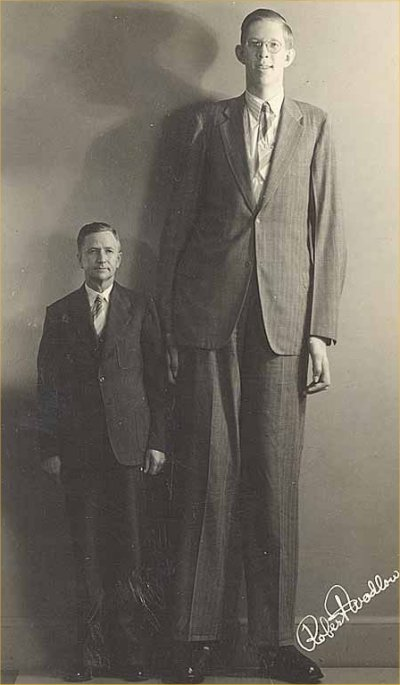 Robert Wadlow height