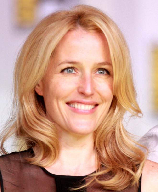 Gillian Anderson Weigh...