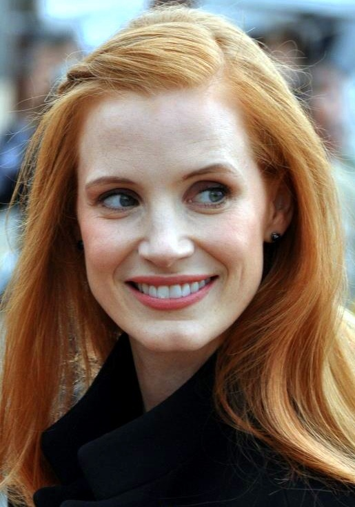 Jessica Chastain Weight Height Measurements Bra Size-9414