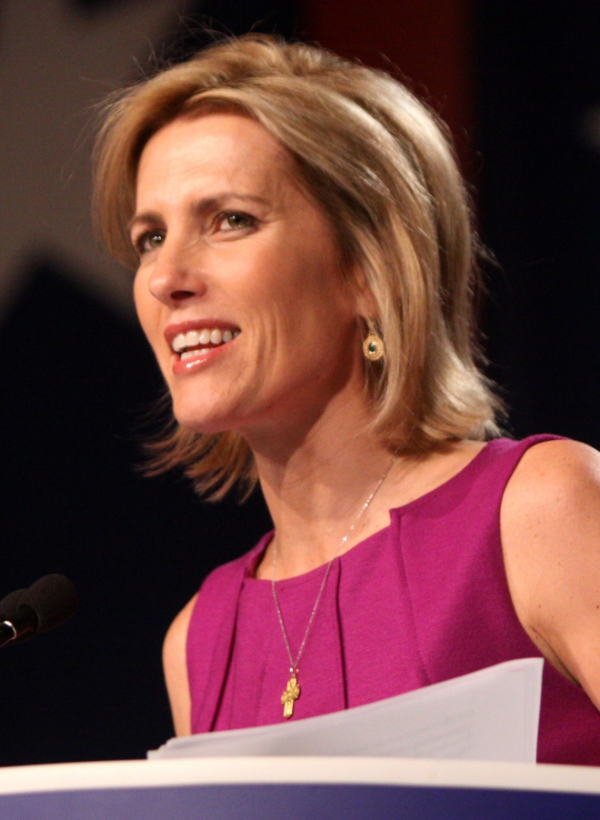 Laura Ingraham Weight Height Ethnicity Hair Color Eye Color
