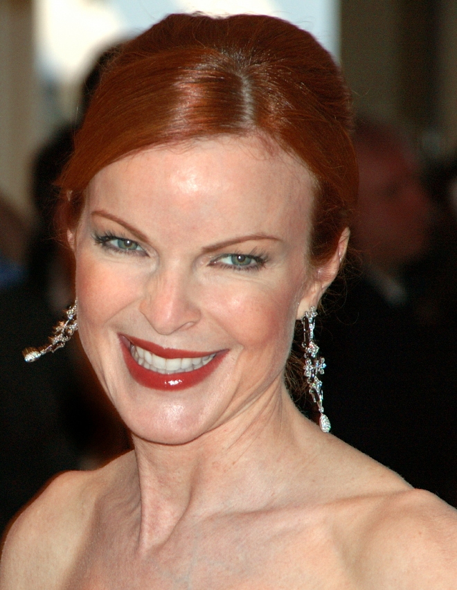 Marcia Cross eye color
