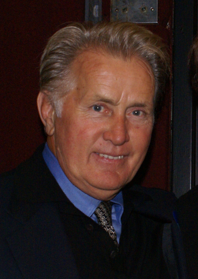 Martin Sheen eye color