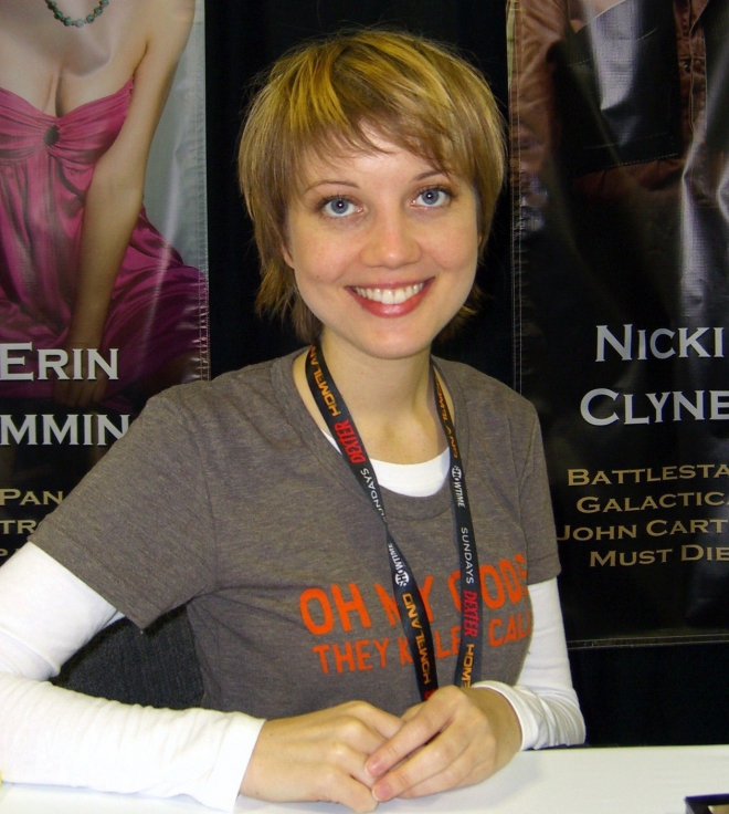 Nicki Clyne Weight Height Ethnicity Hair Color Education