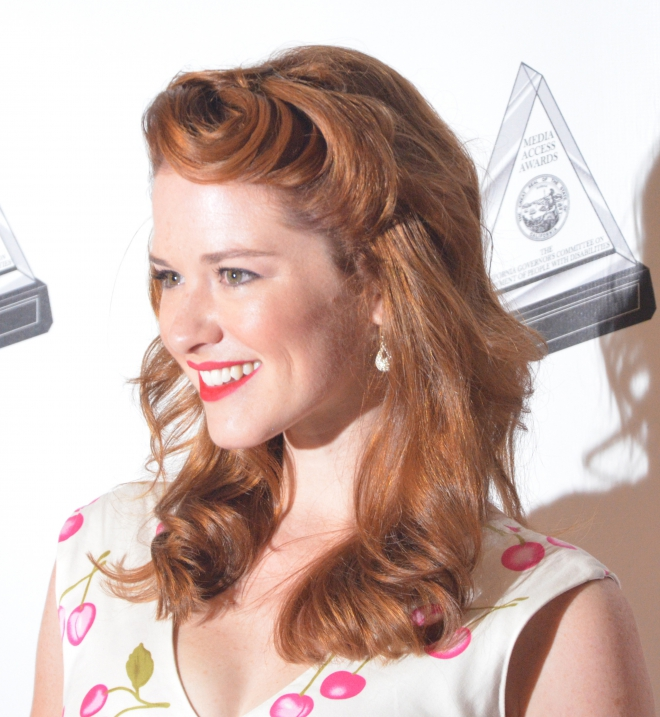 Sarah Drew hair colour