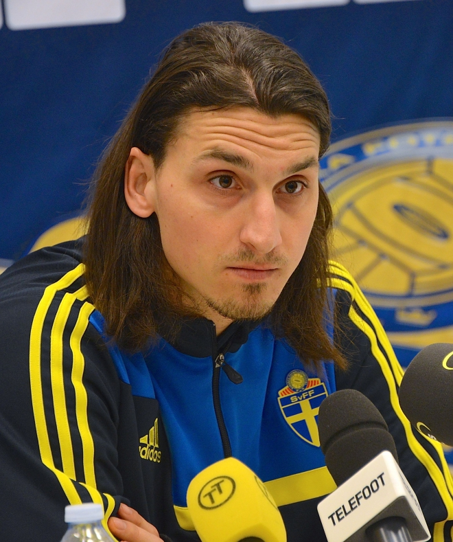 Zlatan Ibrahimovic Weight Height Ethnicity Hair Color