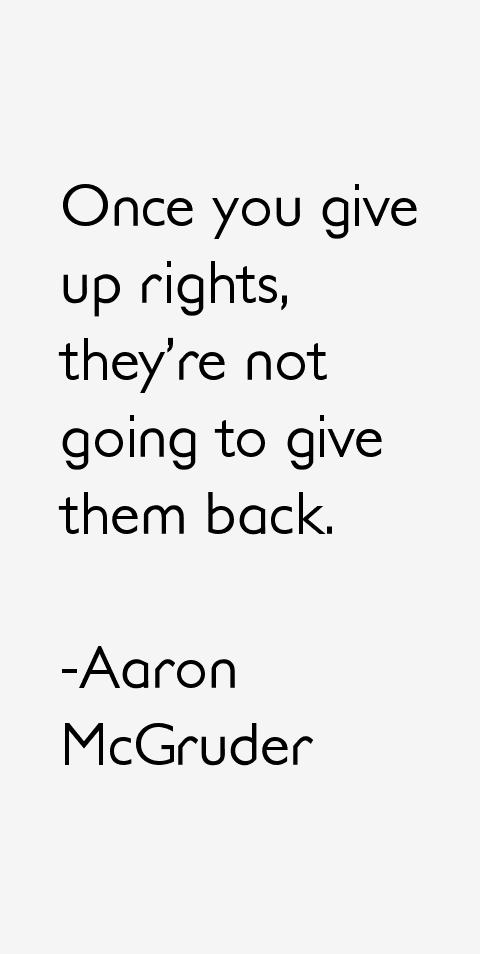 Aaron McGruder Quotes