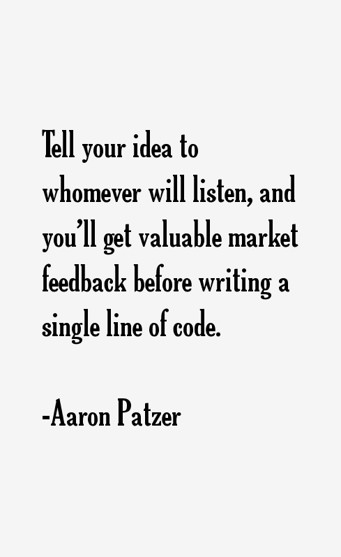 Aaron Patzer Quotes