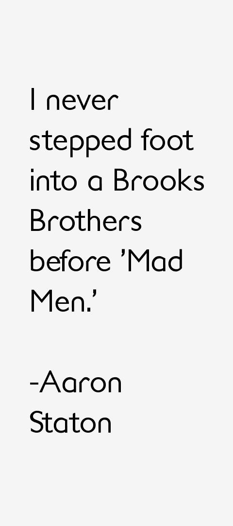 Aaron Staton Quotes