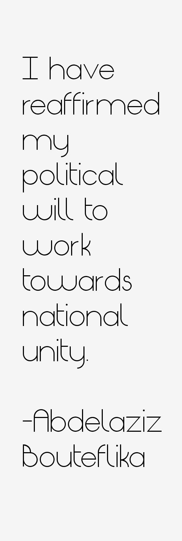 Abdelaziz Bouteflika Quotes