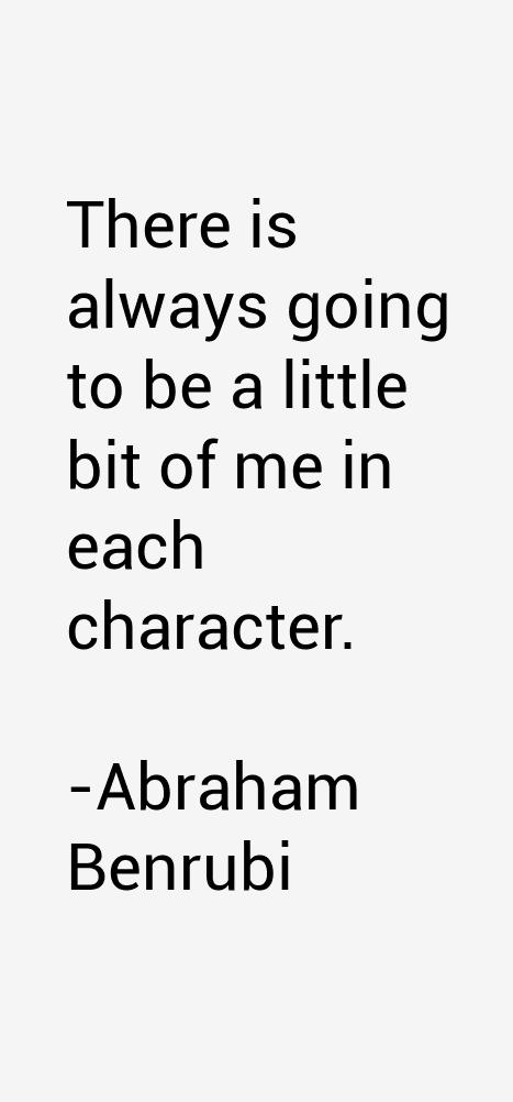Abraham Benrubi Quotes