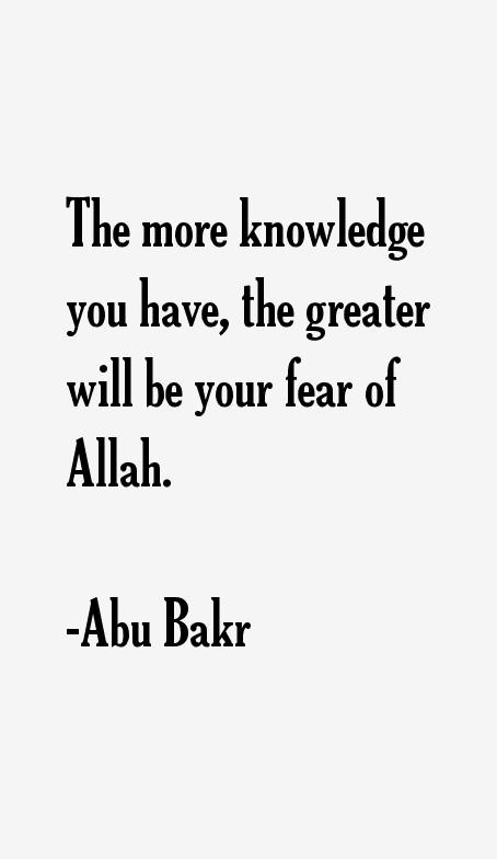 Abu Bakr Quotes