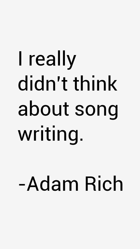 Adam Rich Quotes