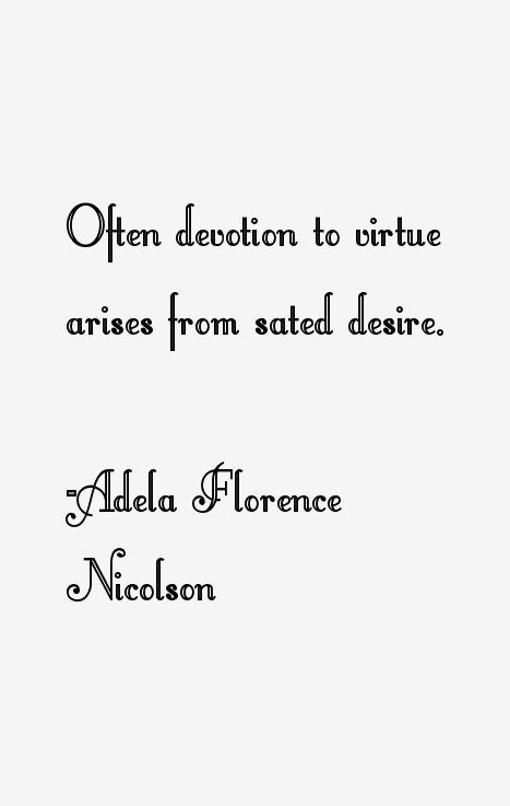 Adela Florence Nicolson Quotes