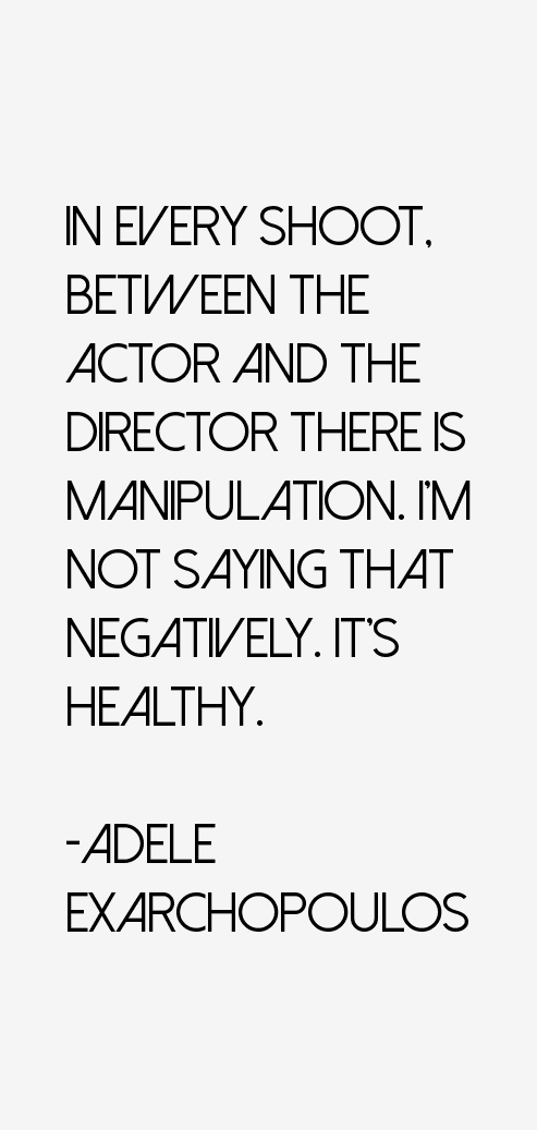 Adele Exarchopoulos Quotes