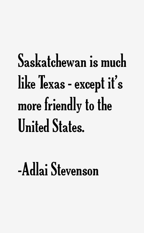 Adlai Stevenson Quotes