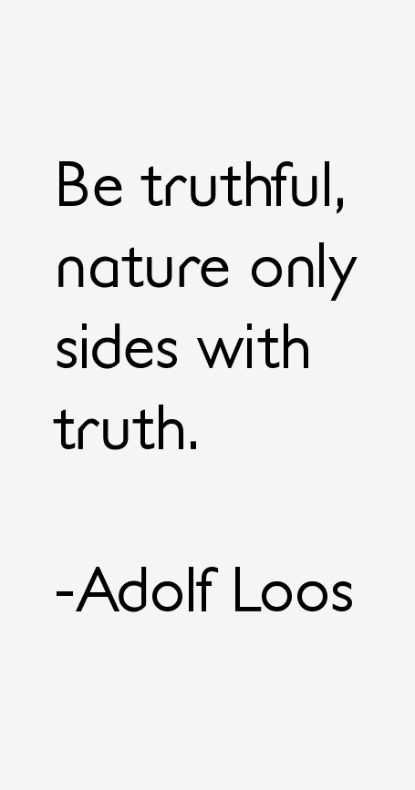 Adolf Loos Quotes