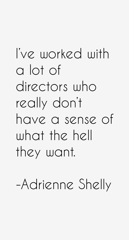Adrienne Shelly Quotes