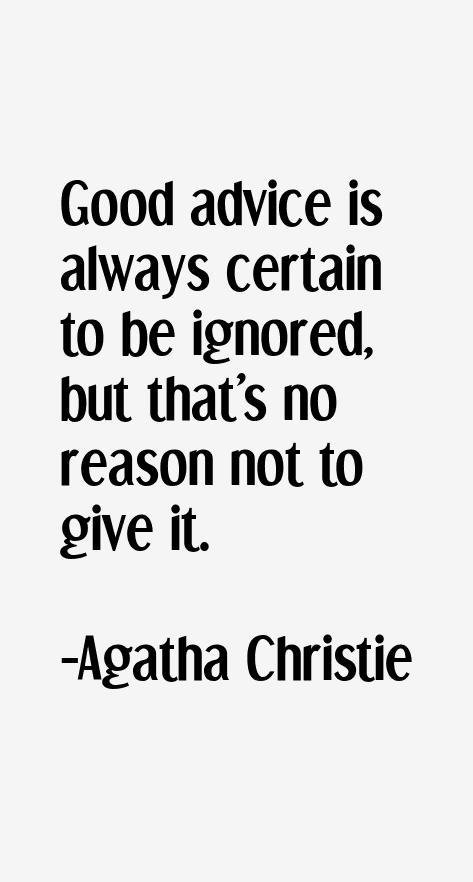 Agatha Christie Quotes