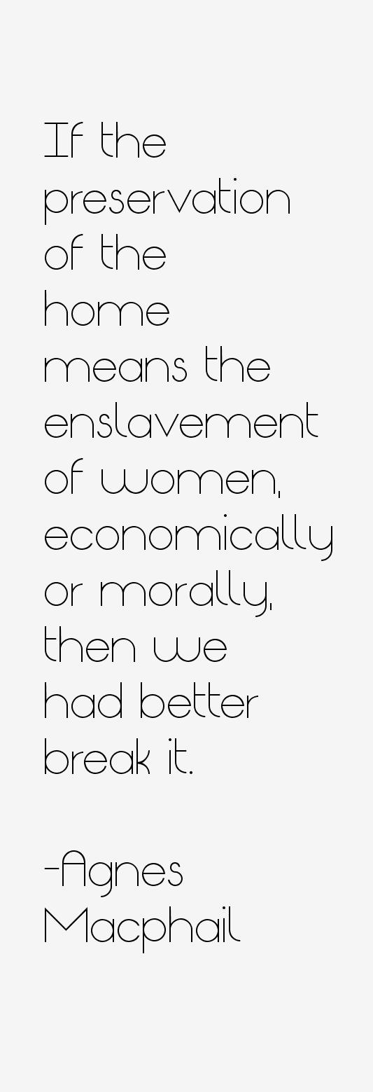 Agnes Macphail Quotes