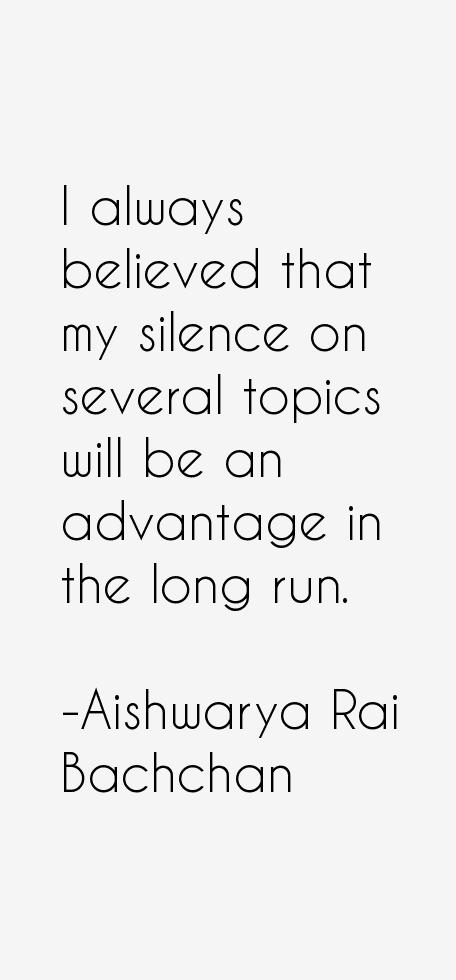Aishwarya Rai Bachchan Quotes