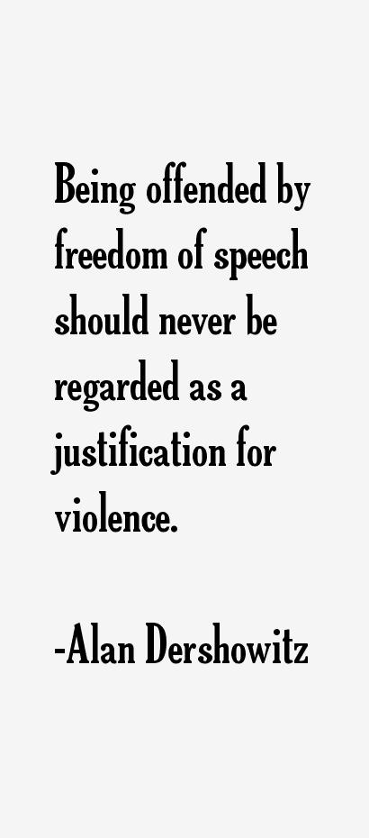 Alan dershowitz quotes