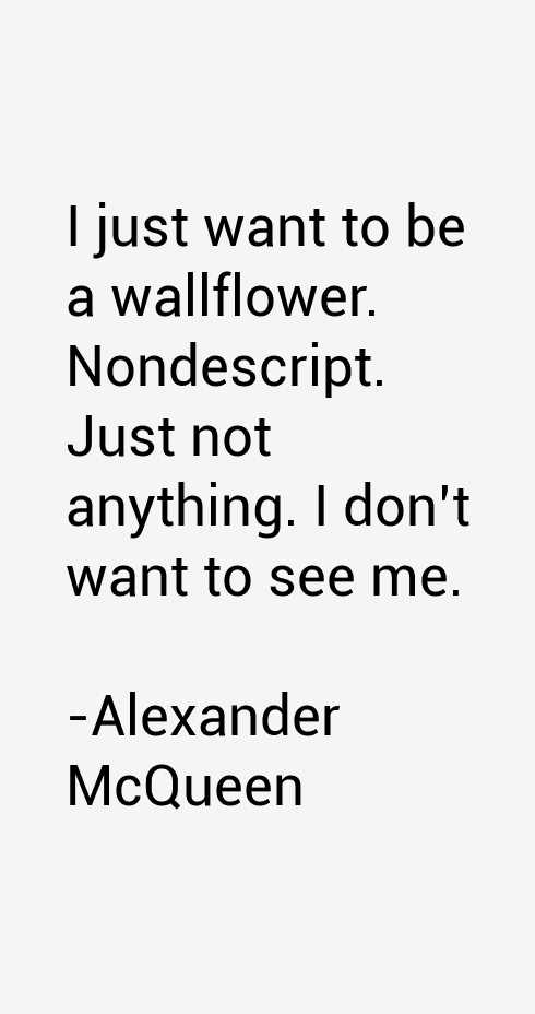 Alexander McQueen Quotes & Sayings (Page 2)