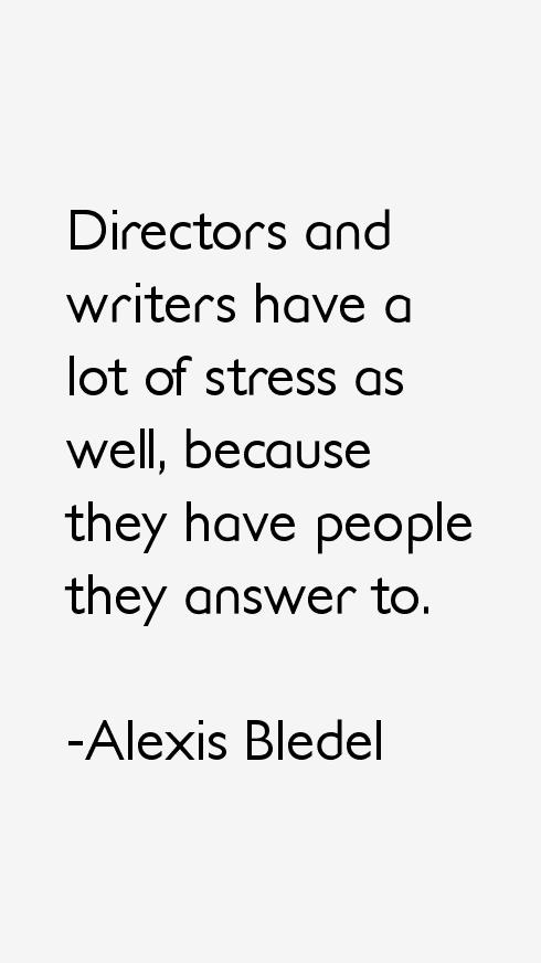 Alexis Bledel Quotes