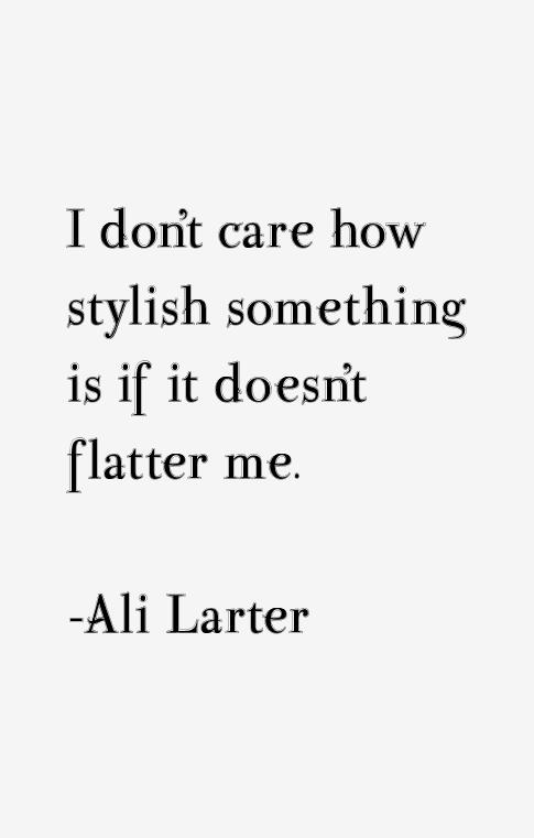 Ali Larter Quotes