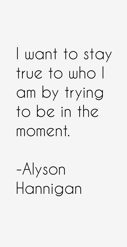 Alyson Hannigan Quotes