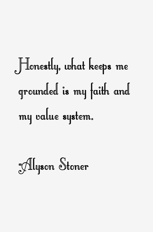 Alyson Stoner Quotes