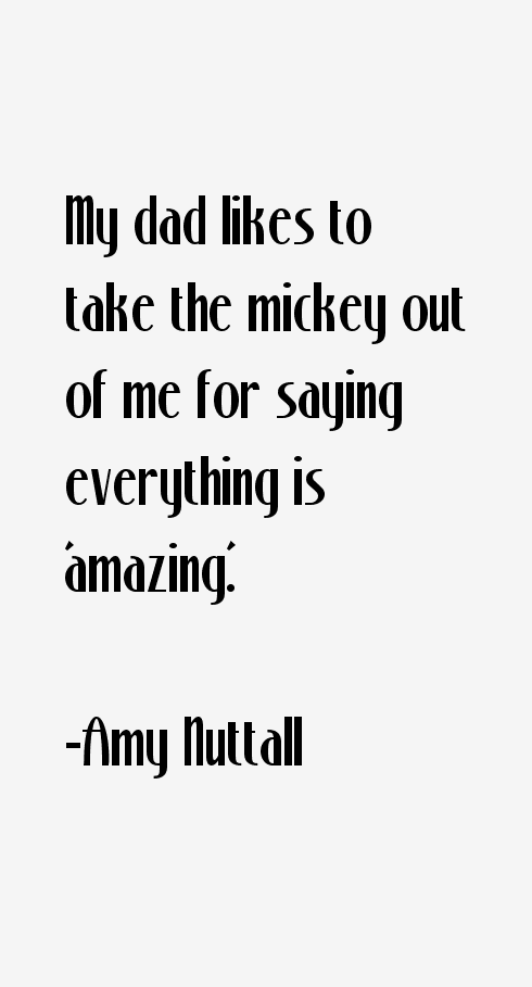 Amy Nuttall Quotes