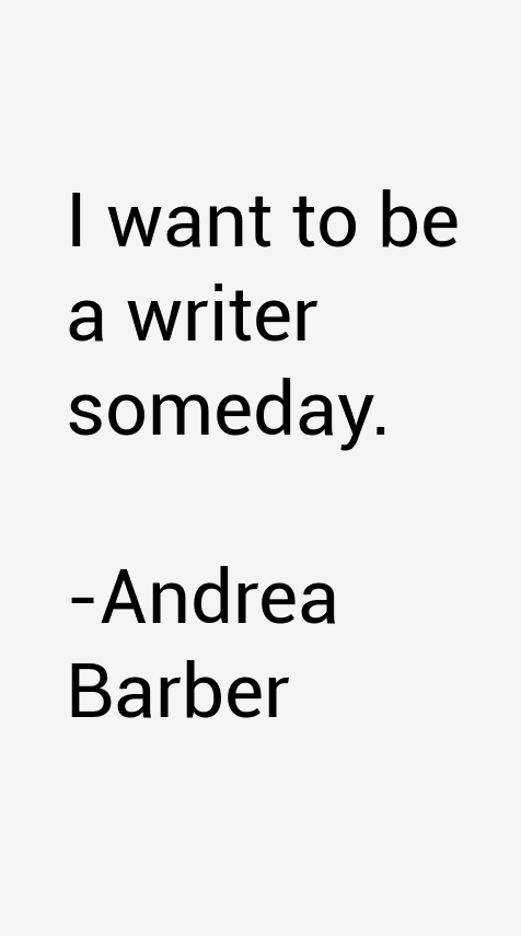 Andrea Barber Quotes