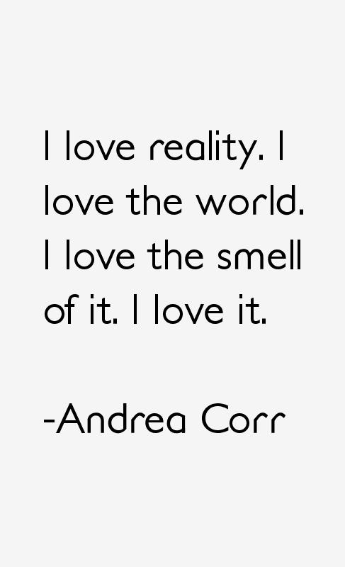 Andrea Corr Quotes
