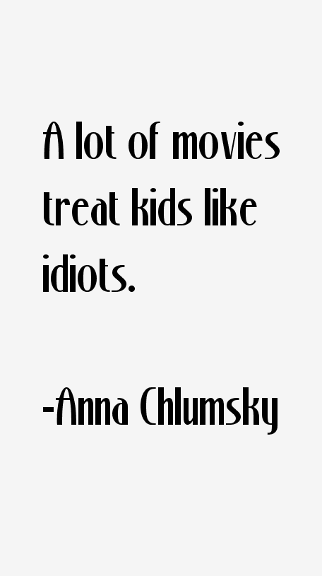 Anna Chlumsky Quotes