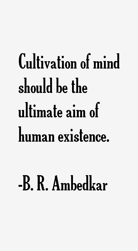 B. R. Ambedkar Quotes