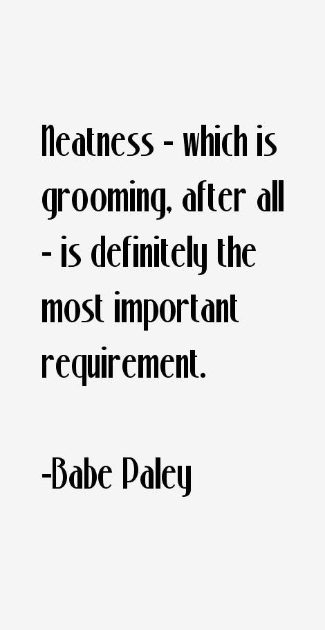 Babe Paley Quotes