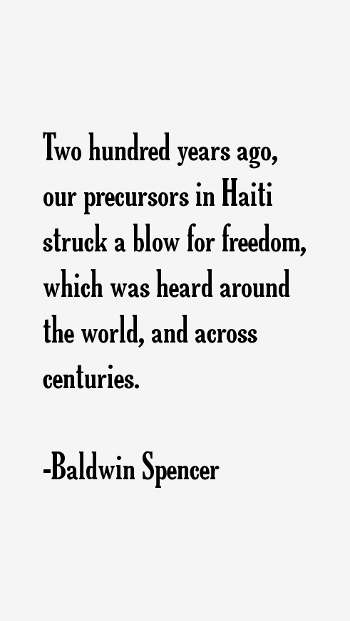 Baldwin Spencer Quotes
