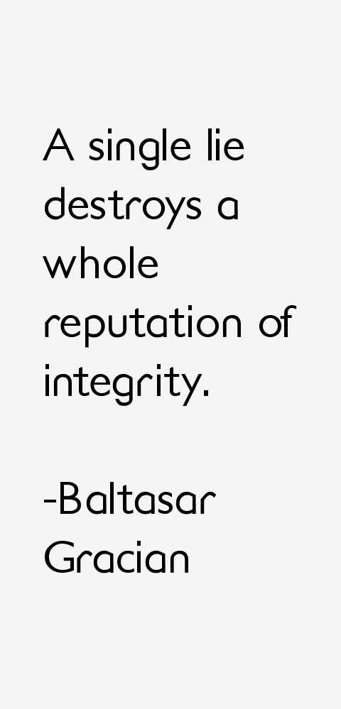 Baltasar Gracian Quotes