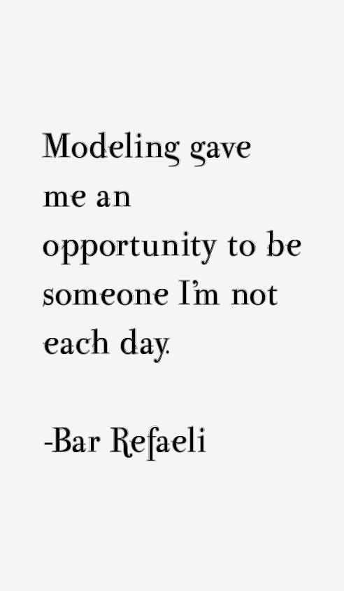 Bar Refaeli Quotes & Sayings