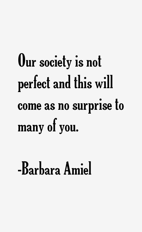 Barbara Amiel Quotes