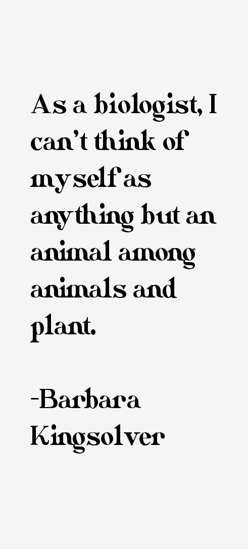 Barbara Kingsolver Quotes