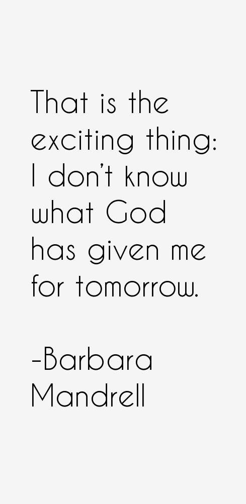Barbara Mandrell Quotes