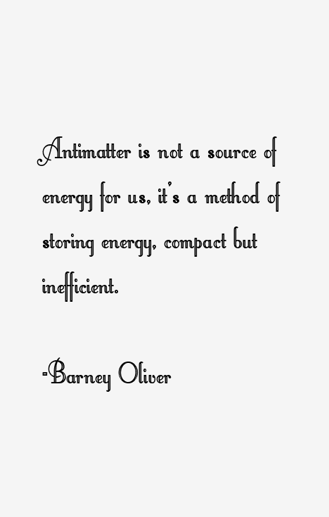 Barney Oliver Quotes