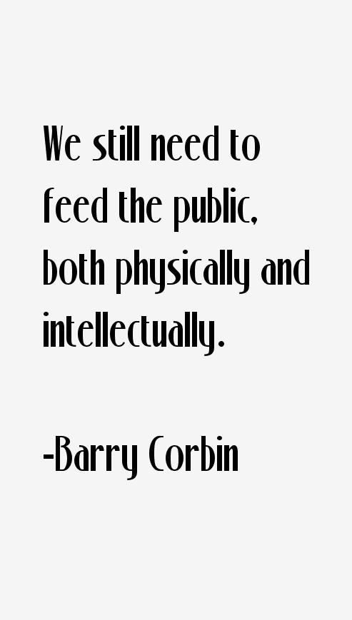 Barry Corbin Quotes