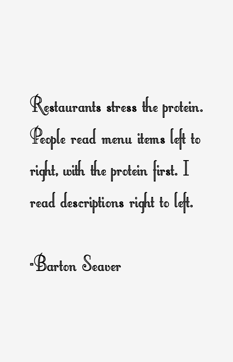 Barton Seaver Quotes