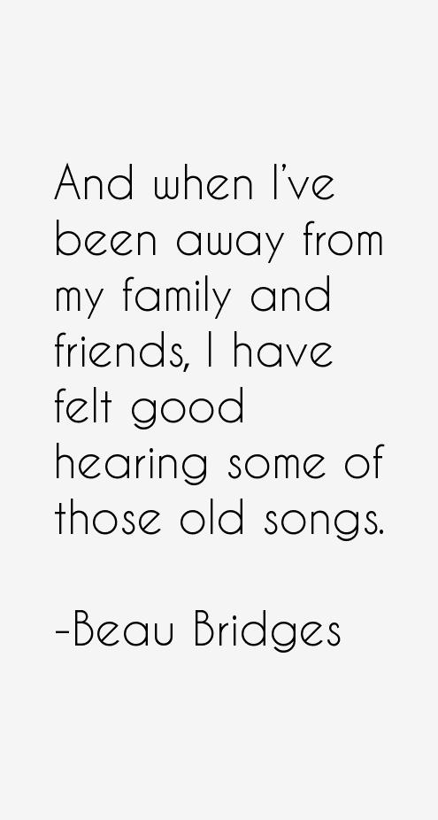Beau Bridges Quotes