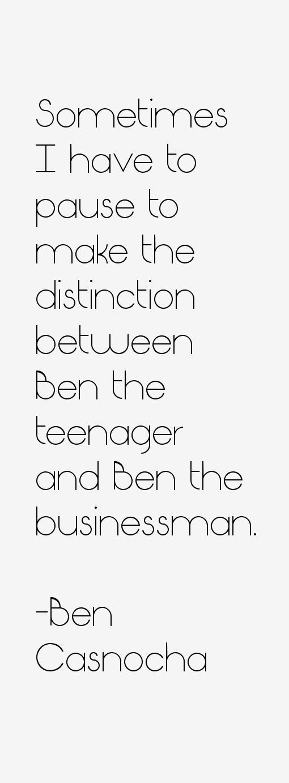Ben Casnocha Quotes